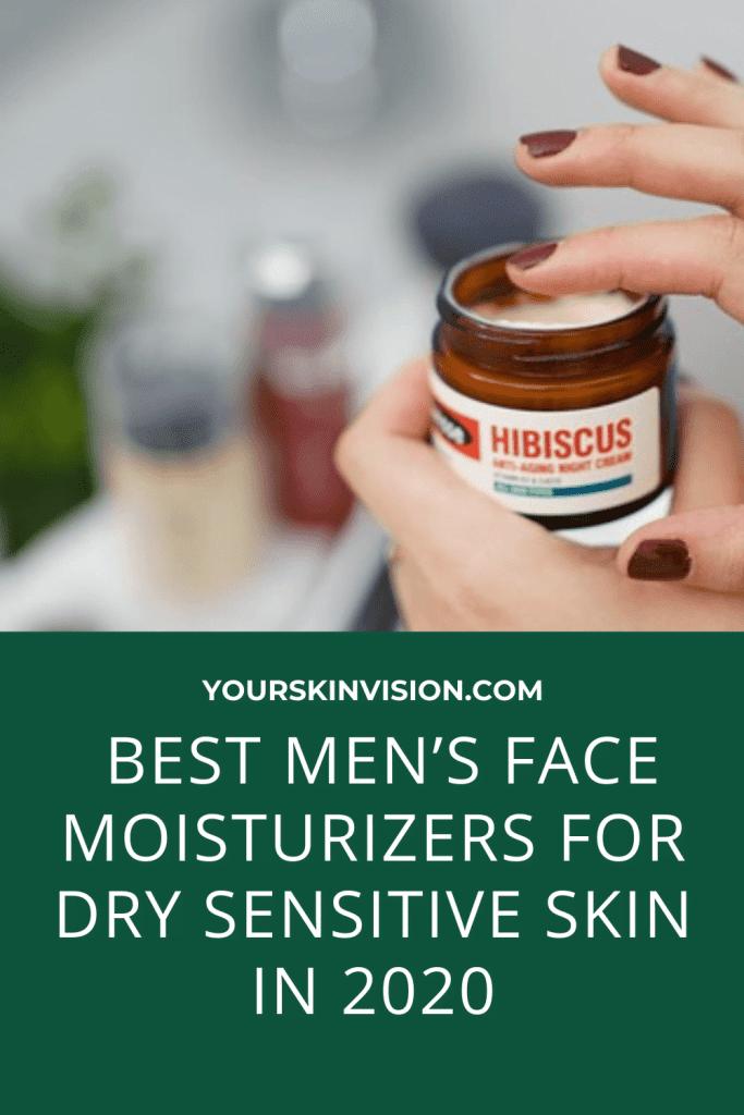 best men's face moisturizer